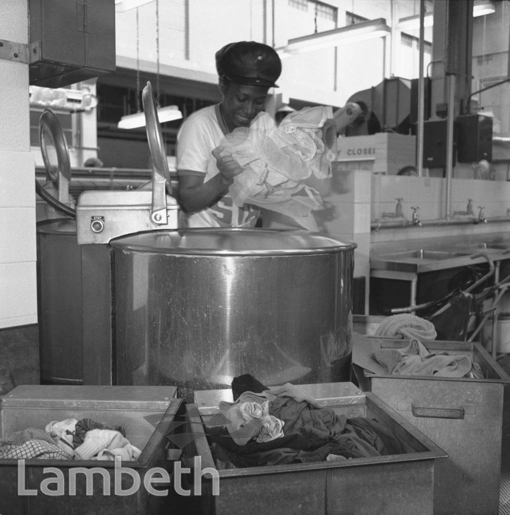 WASHING MACHINES, LAMBETH BATHS, LAMBETH WALK