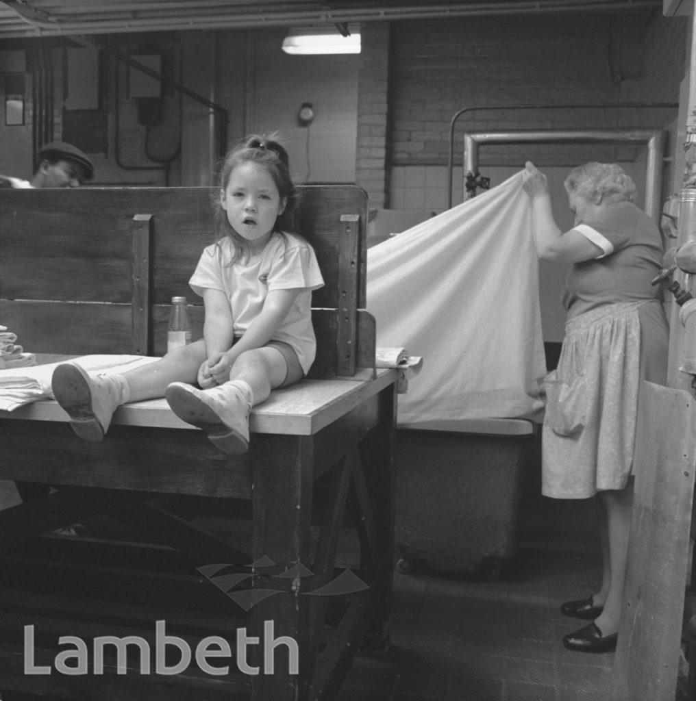 LAMBETH BATHS, LAMBETH WALK