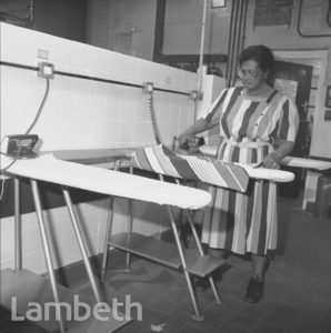 IRONING BOARDS, LAMBETH BATHS, LAMBETH WALK
