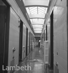 BATHROOMS, LAMBETH BATHS, LAMBETH WALK