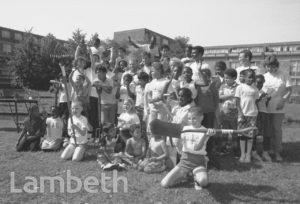CHILDREN, STOCKWELL PARK ESTATE, AYTOUN RD, STOCKWELL