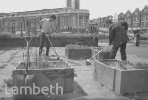 COUNCIL GARDENERS, BRIXTON OVAL, BRIXTON