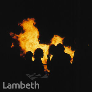 BONFIRE NIGHT, STREATHAM COMMON
