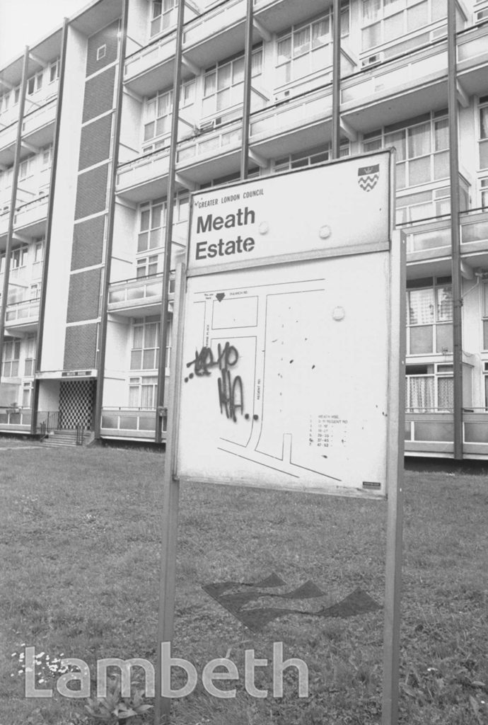 MEATH ESTATE, DULWICH ROAD, HERNE HILL