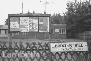LAMBETH NOTICEBOARD & LUNCHEON CLUB, BRIXTON HILL