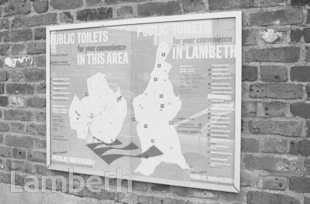 LAMBETH'S PUBLIC TOILETS