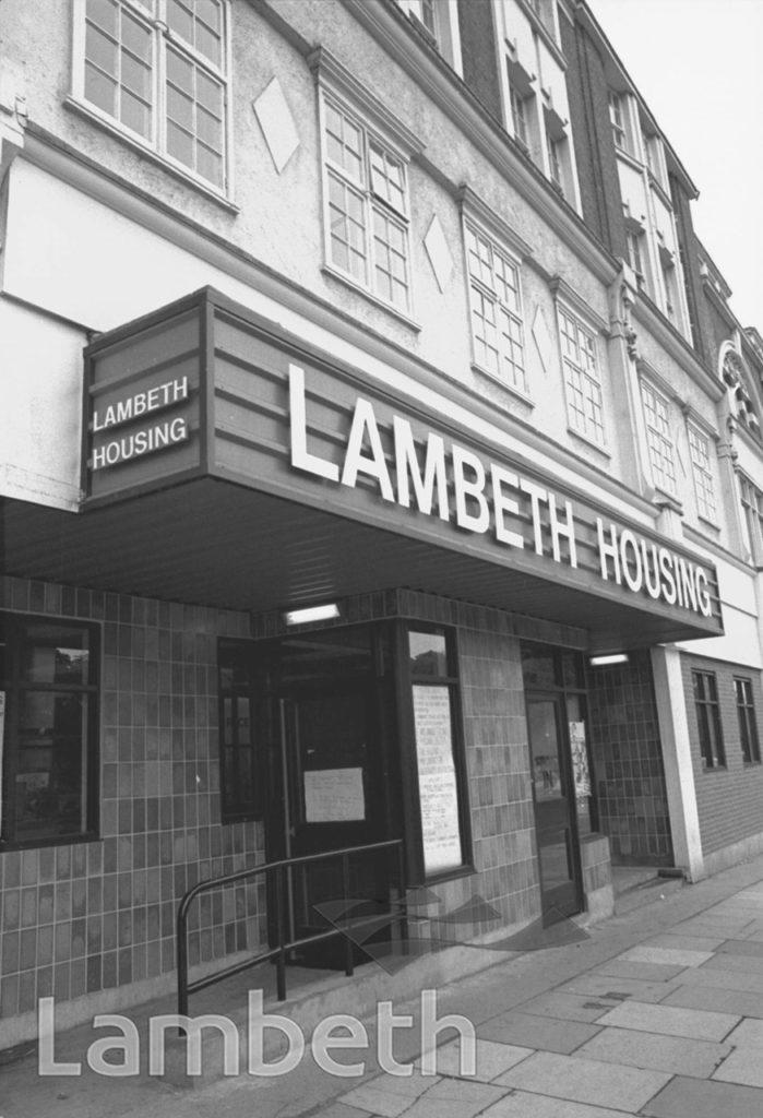 LAMBETH HOUSING, BRIXTON HILL