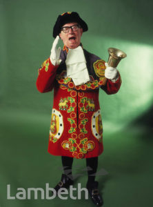 ALFIE HOWARD, LAMBETH TOWN CRIER