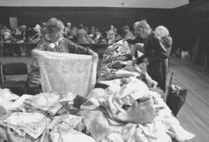 AGE CONCERN JUMBLE SALE, TOWN HALL
