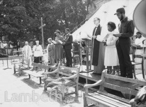 PEACE CEREMONY, ST MATTHEW'S GARDENS, BRIXTON