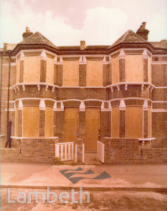 EMPTY HOUSES, NEALDEN STREET, STOCKWELL