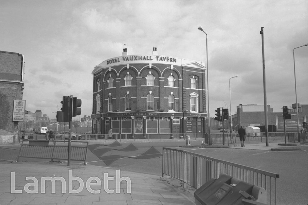 ROYAL VAUXHALL TAVERN, KENNINGTON LANE, VAUXHALL