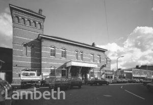 HERNE HILL STATION, RAILTON ROAD, HERNE HILL