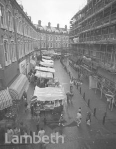 MARKET STALLS, ELECTRIC AVENUE, BRIXTON