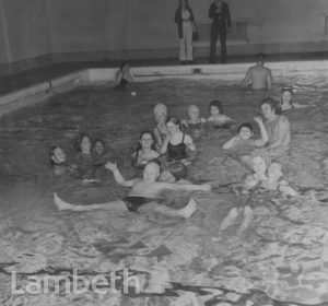 DISABLED CHILDREN SWIMMING, STREATHAM BATHS