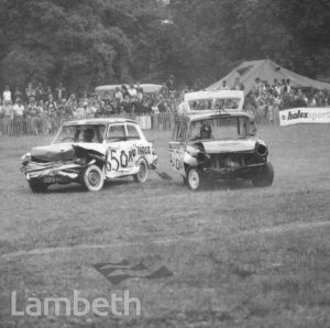 STOCK CARS, SPORTS FESTIVAL, BROCKWELL PARK, HERNE HILL