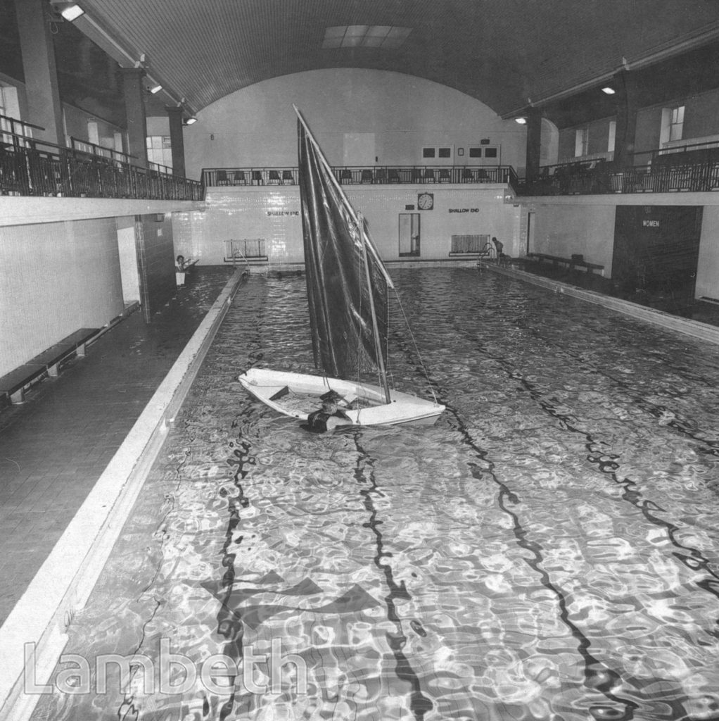 CLAPHAM BATHS, CLAPHAM MANOR STREET