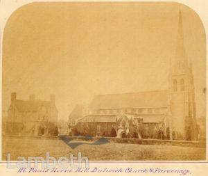 ST PAUL'S CHURCH, HERNE HILL