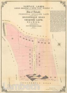 REDEVELOPMENT SITE, ROSENDALE ROAD, HERNE HILL
