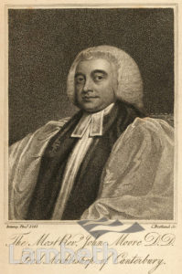 JOHN MOORE, ARCHBISHOP OF CANTERBURY