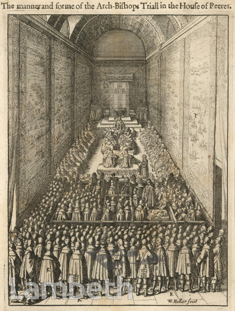 TRIAL OF ARCHBISHOP LAUD, WESTMINSTER