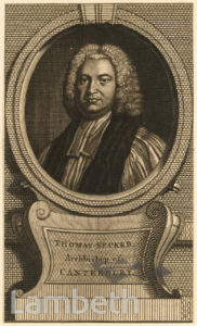 ARCHBISHOP THOMAS SECKER
