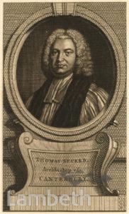 ARCHBISHOP THOMAS SECKER