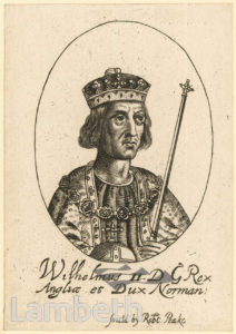 KING WILLIAM II, DUKE OF NORMANDY