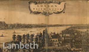 ST MARY-AT-LAMBETH BY W. HOLLAR