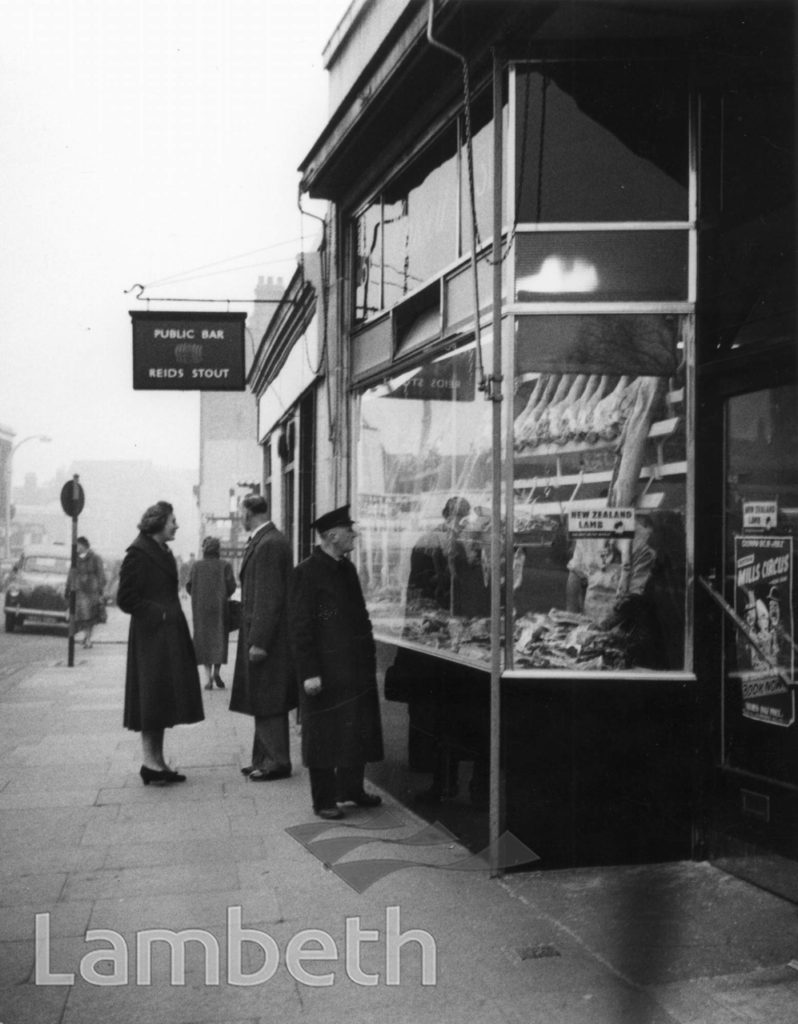 HASSELL'S BUTCHER SHOP, THE PAVEMENT, CLAPHAM