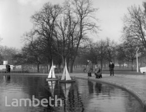 LONG POND, CLAPHAM COMMON, CLAPHAM