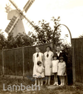 BRIXTON RESIDENTS AT ST MARGARET'S BAY WINDMILL, KENT