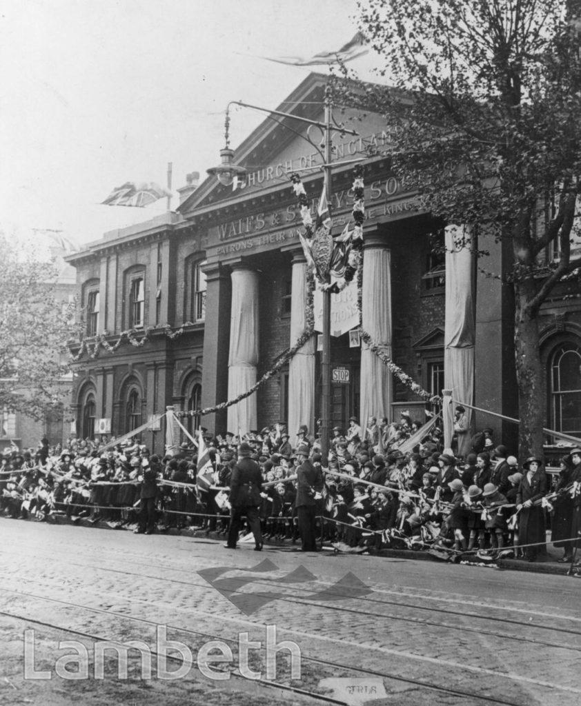 CHURCH OF ENGLAND CHILDREN'S SOCIETY, KENNINGTON