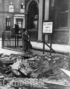 CHURCH OF ENGLAND CHILDREN'S SOCIETY: WORLD WAR II INCIDENT