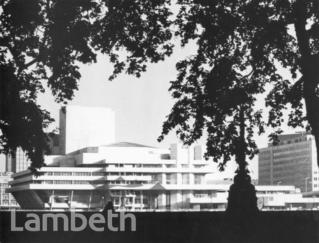 NATIONAL THEATRE, SOUTH BANK, WATERLOO
