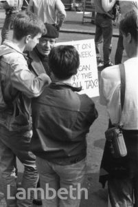 POLL TAX DEMONSTRATION
