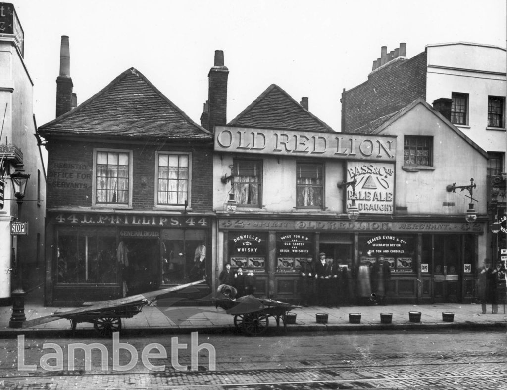 OLD RED LION, KENNINGTON PARK ROAD, KENNINGTON