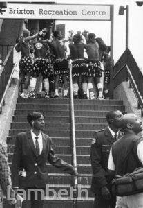 NELSON MANDELA VISIT, BRIXTON CENTRAL