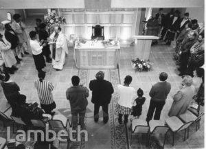 ST MATTHEW'S CHURCH, CENTRAL BRIXTON