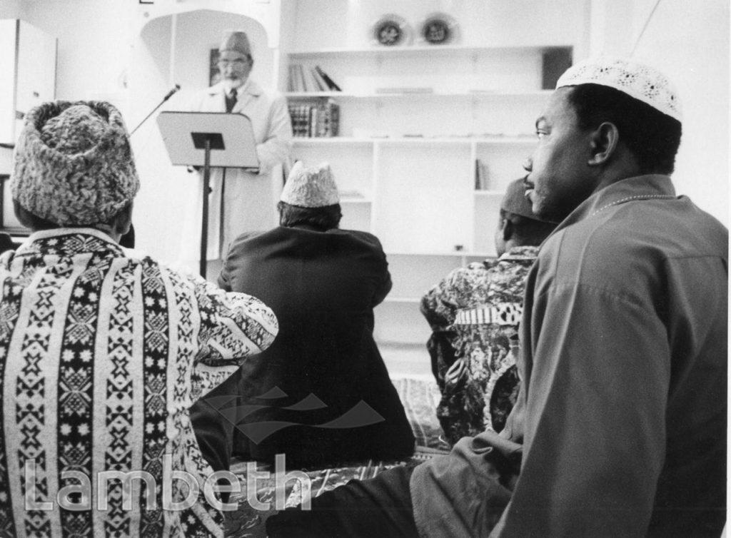 AHMADIYYA MUSLIM ASSOCIATION MOSQUE, BARRINGTON ROAD