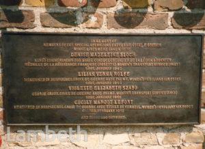 MEMORIAL PLAQUE, RAVENSBRUCK, WORLD WAR II