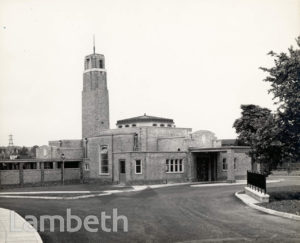 LAMBETH CREMATORIUM, BLACKSHAW ROAD, TOOTING