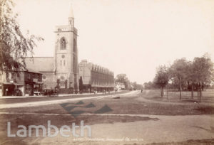 IMMANUEL CHURCH, STREATHAM HIGH ROAD, STREATHAM COMMON