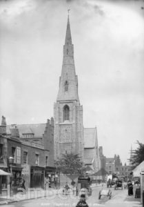 ST MARY'S CHURCH, CLAPHAM PARK ROAD, CLAPHAM