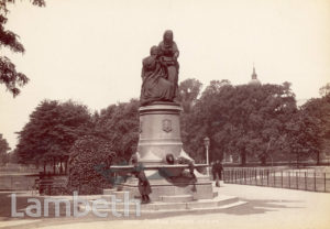 THE DRINKING FOUNTAIN, CLAPHAM COMMON, CLAPHAM