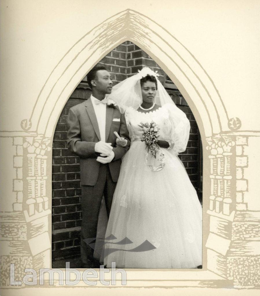 WEDDING, RALEIGH PARK BAPTIST CHURCH, BRIXTON HILL