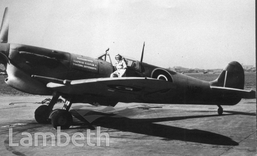 SPITFIRE VC. MA 281, WORLD WAR II