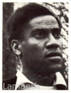 GEORGE LAMMING, WEST INDIAN AUTHOR AND JOURNALIST