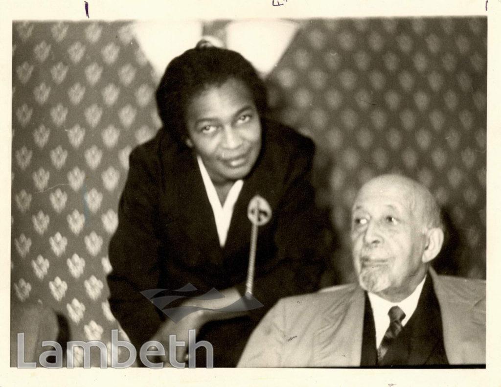 CLAUDIA JONES AND DR. W.E.B.DUBOIS