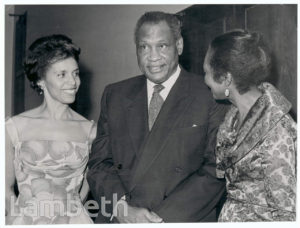CLAUDIA JONES, PAUL ROBESON AND NADIA CATTOUSE